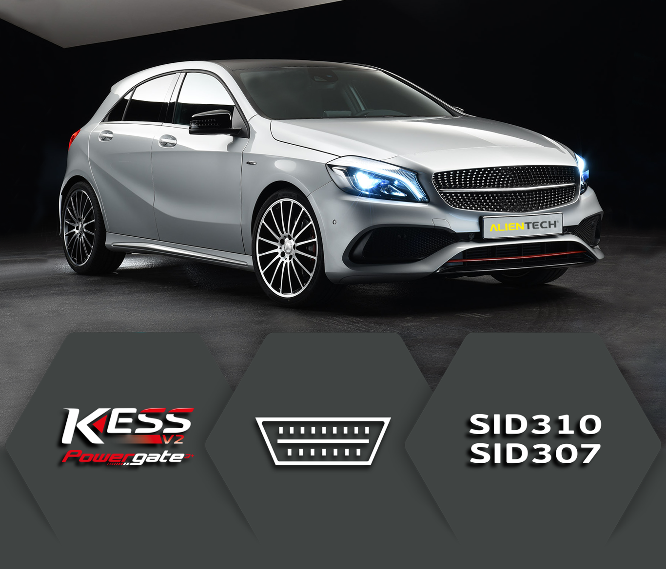 KESSv2 Full OBD reading and writing of the Continental SID310 and SID307